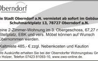 2-Zimmer-Wohnung in Oberndorf